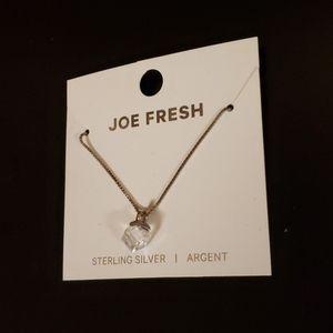 Joe Fresh Sterling Silver Necklace